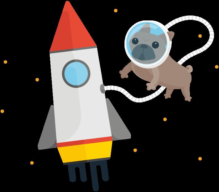 Bulldogjob com the space. Clipart rocket takeoff