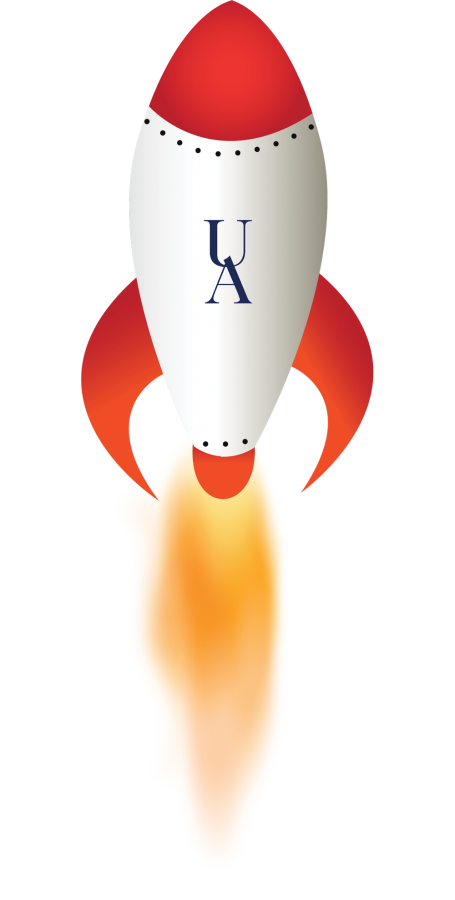 Clipart rocket takeoff. Akronauts prepare for the