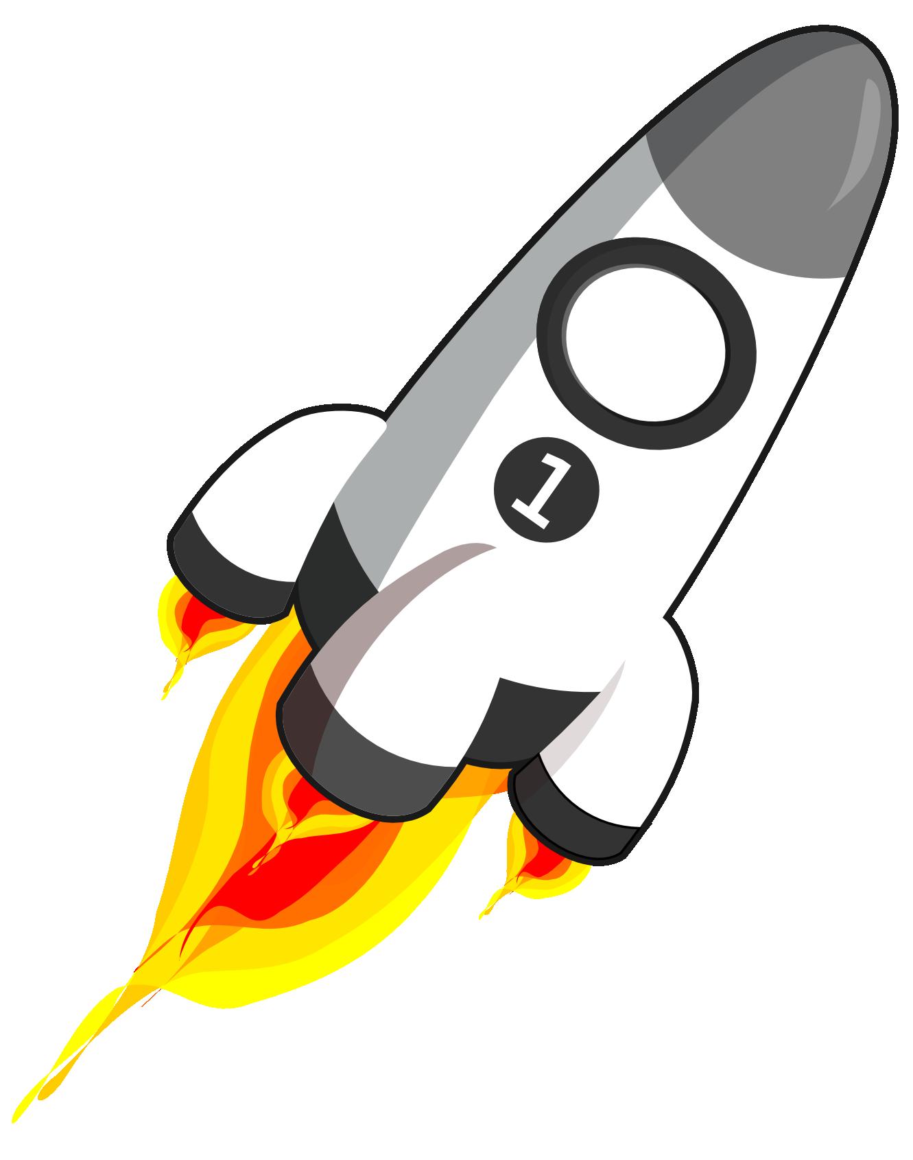 Spaceship clipart retro.  collection of rocket