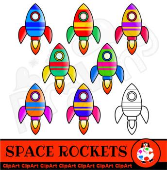Space clip art . Clipart rocket teacher
