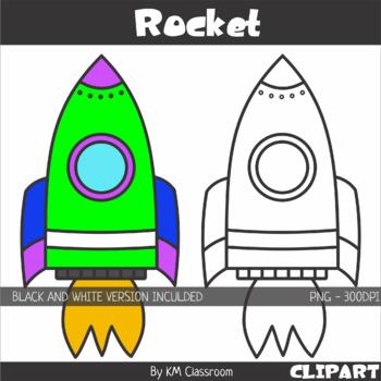 . Clipart rocket teacher