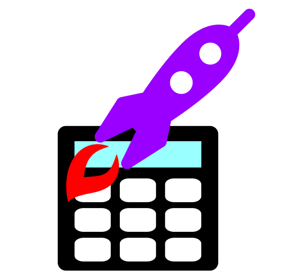 Clipart rocket thrust. Rocketcalculator calculator