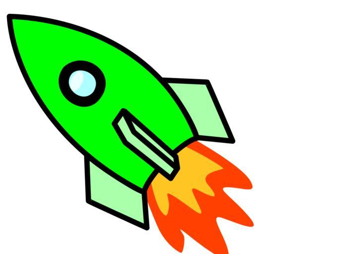 Snappygoat com free public. Clipart rocket thrust