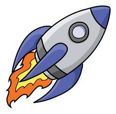 best rockets images. Clipart rocket toddler