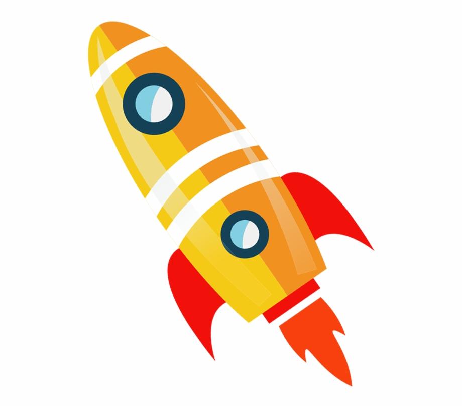 Drawing rockets cartoon flying. Clipart rocket toy