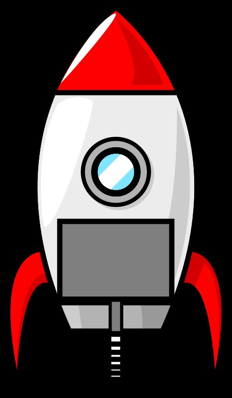 Cartoon moon remix medium. Clipart rocket toy