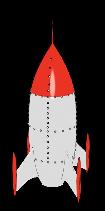 Ayam parametric nurbs modelling. Clipart rocket trajectory