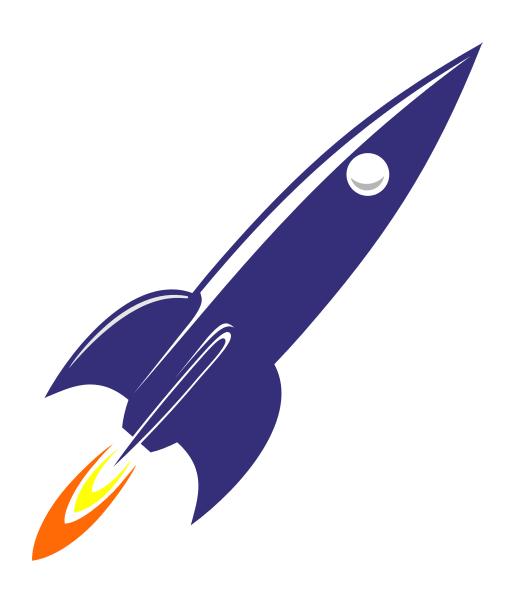 Clipart rocket vintage. Free spaceship cliparts download