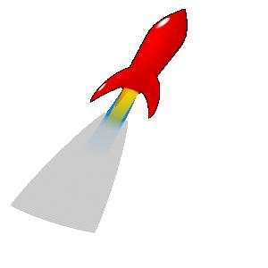 Clipart rocket zoom. Pics free download best