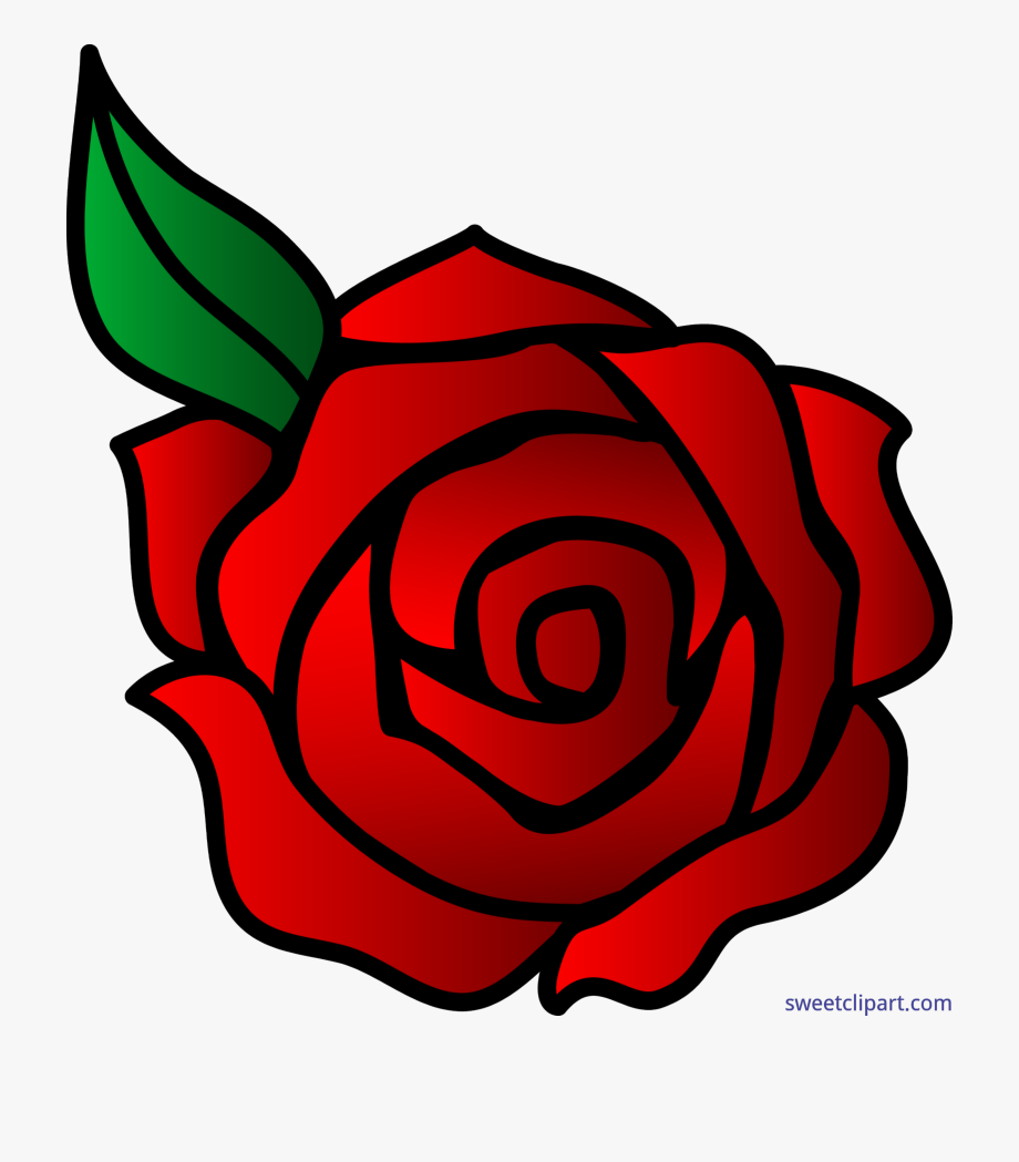 Clipart roses basic. Flowers rose red valentines