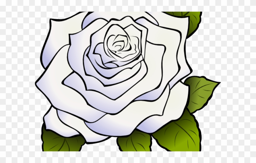 Clipart roses animated. White rose transparent