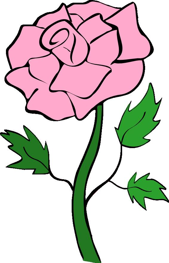 Roses pink rose clip art noelle nichols