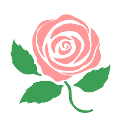 Clipart rose basic. Simple red free picture