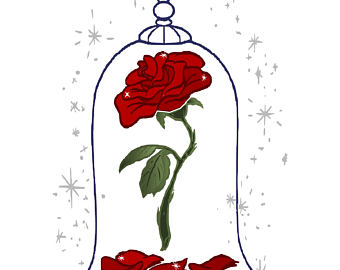 Clip art arts for. Clipart rose beauty and the beast
