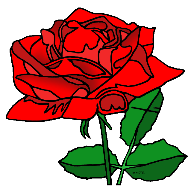 Clipart roses beauty and the beast. United states clip art