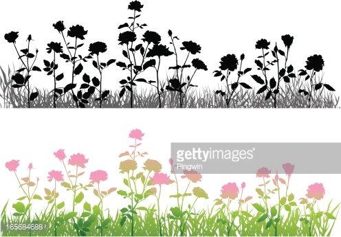 Clipart rose bed. S flower premium clipartlogo