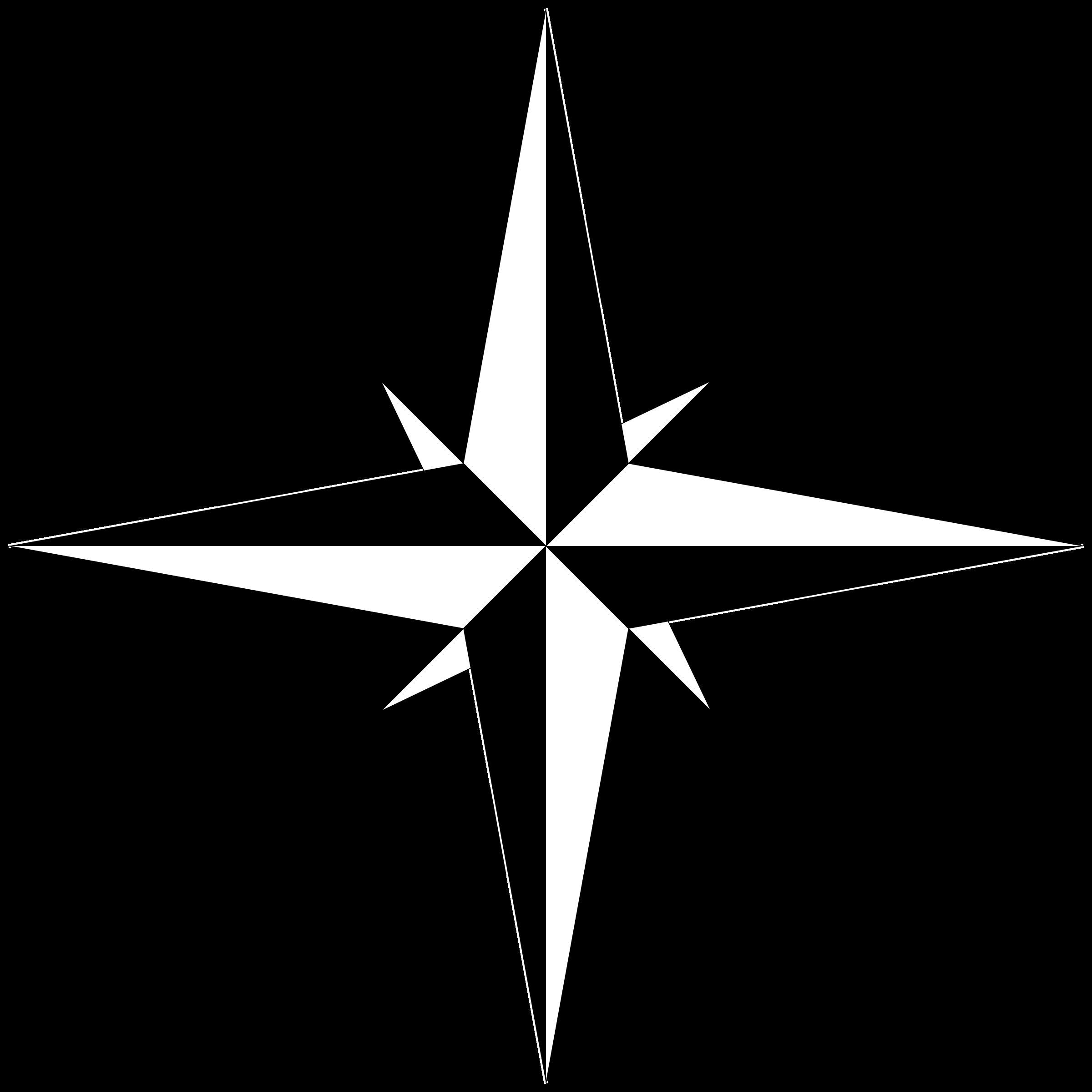 Compass rose png black. Detective clipart legal