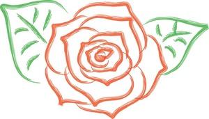 Rose clipart bloom. Design weather