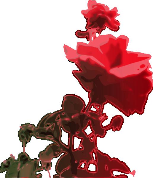 Rose clipart bloom. Clip art at clker