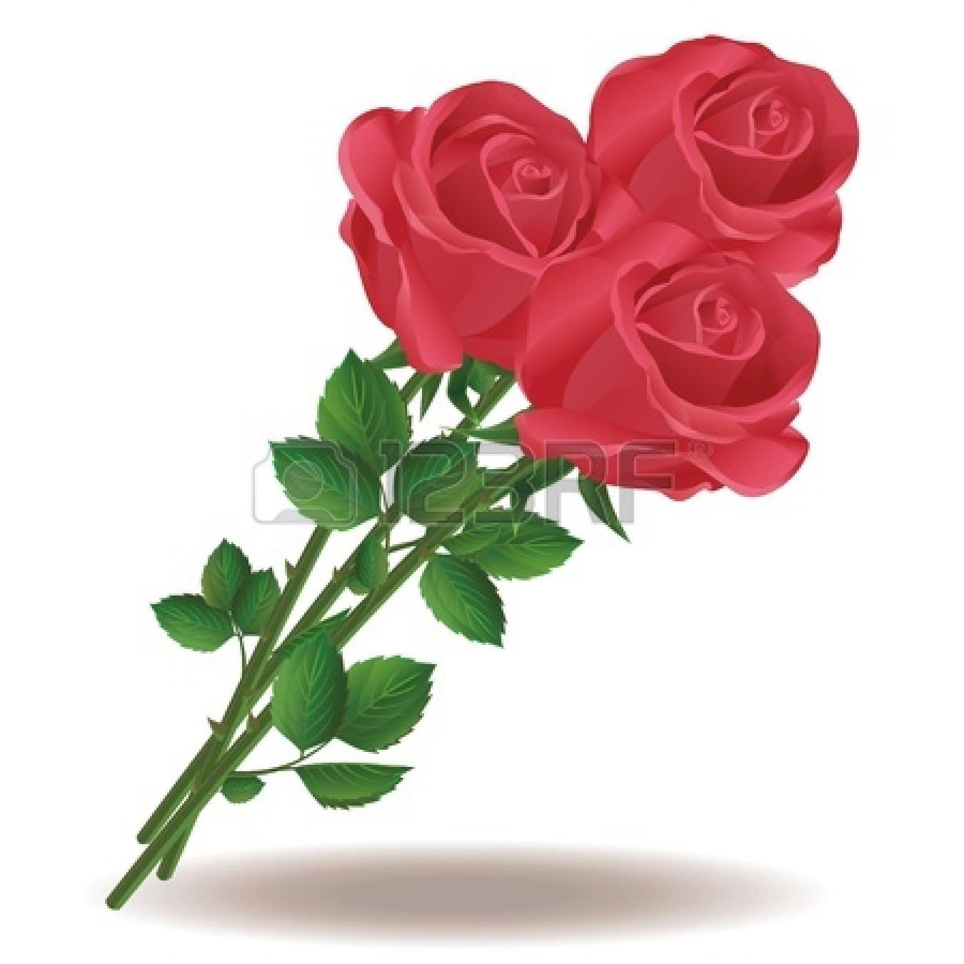 Clipart roses bucket. Rose bouquet clip art