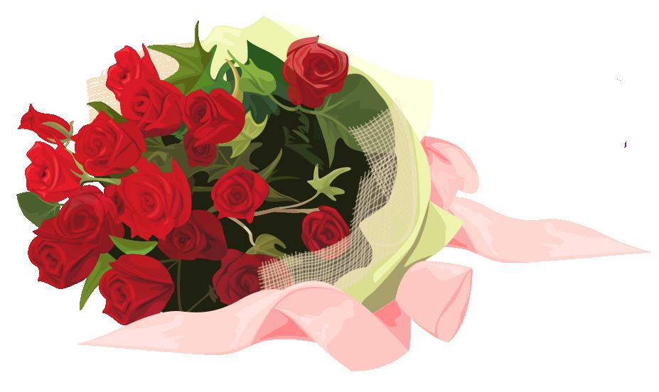 Flower bouquet clip art. Clipart rose bucket