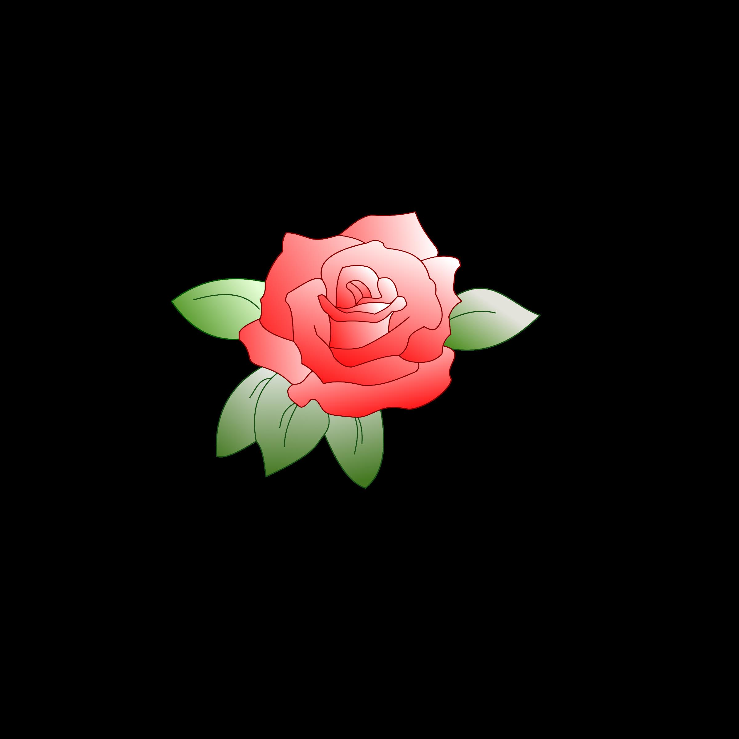 Rose clipart clip art. Colored big image png