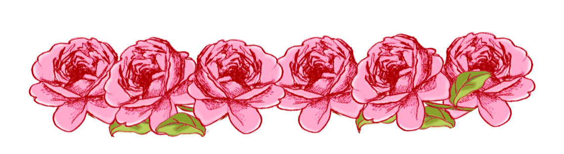Image pink rose clipart. Tumblr border png