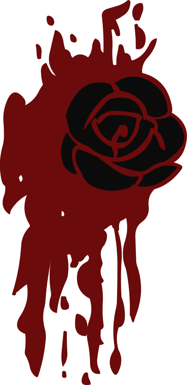 Blood s cutie mark. Clipart rose dead rose