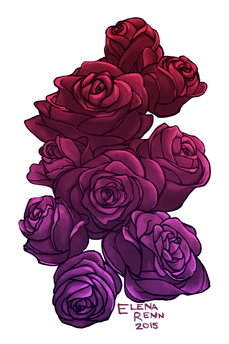 Digital free on dumielauxepices. Clipart rose drawn