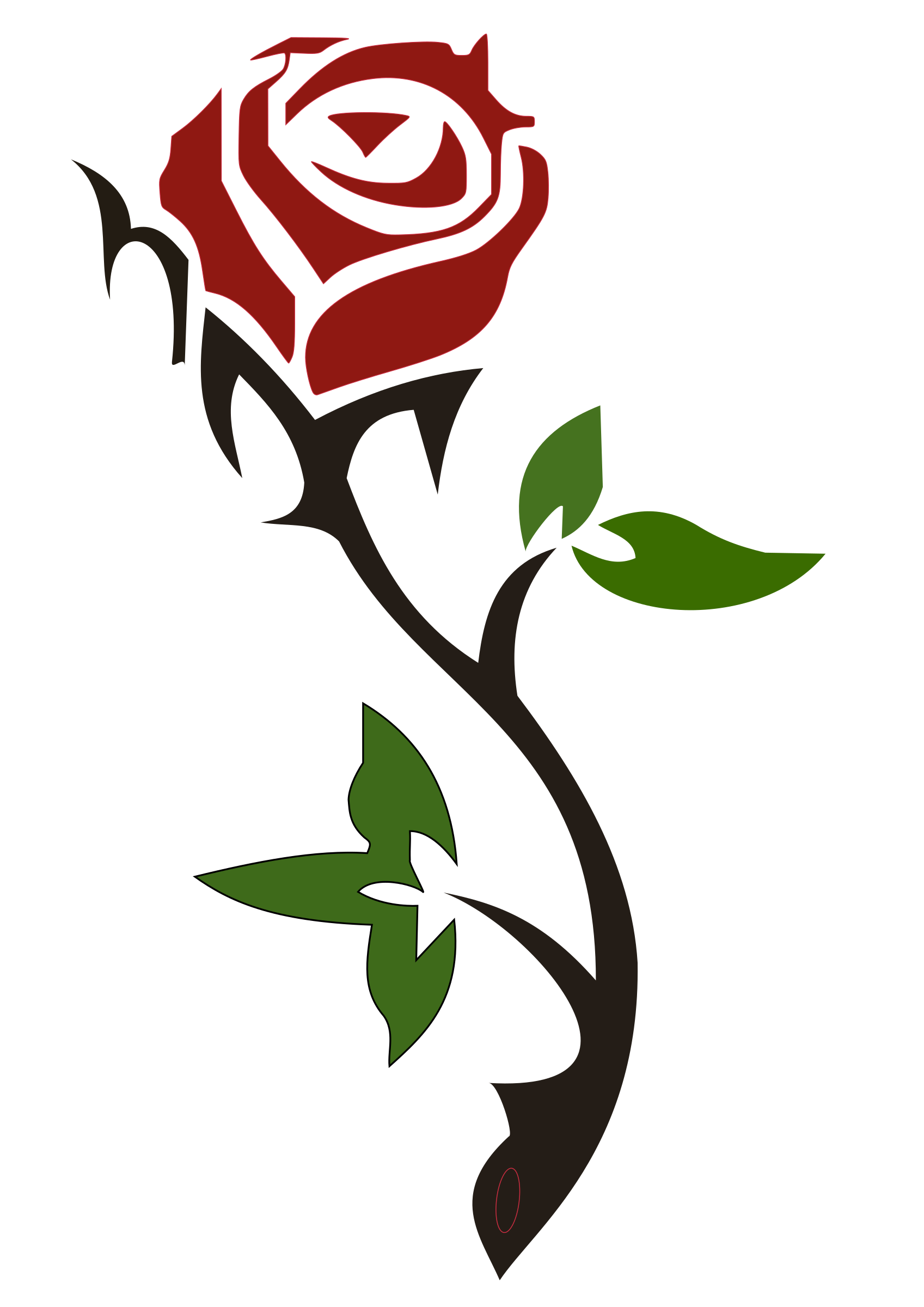Clipart roses simple. Pictures rose drawings art