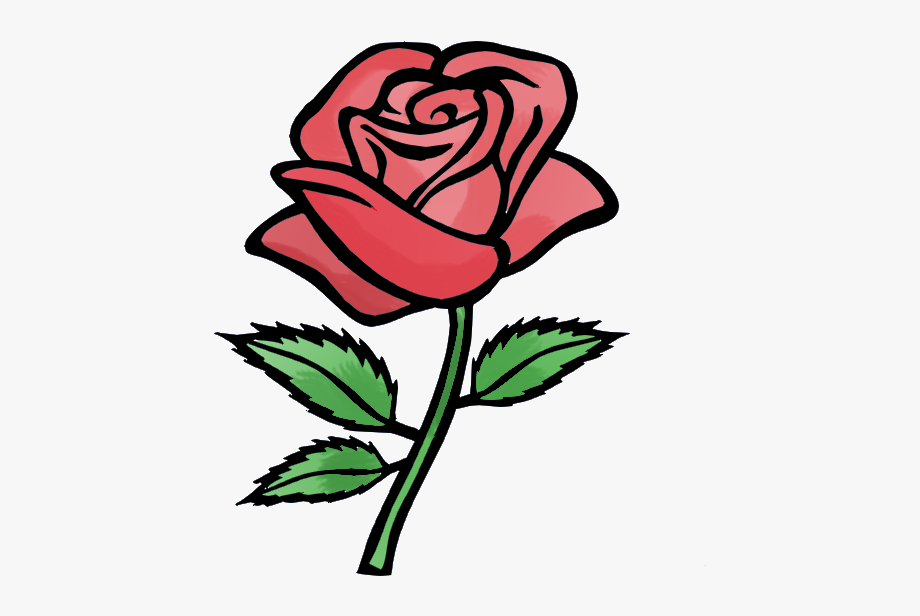 Rose flower animation flash. Clipart roses easy