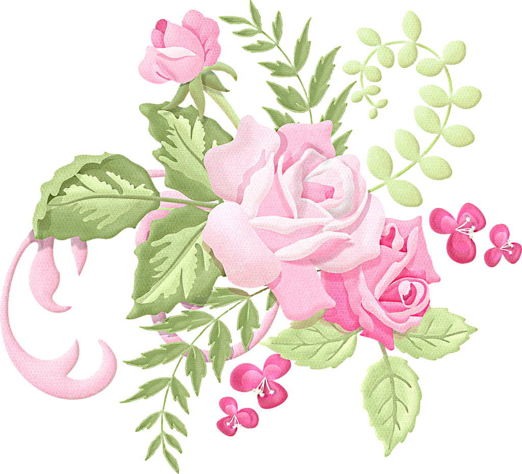 Romanceroses png decoupage printable. Clipart rose embroidery