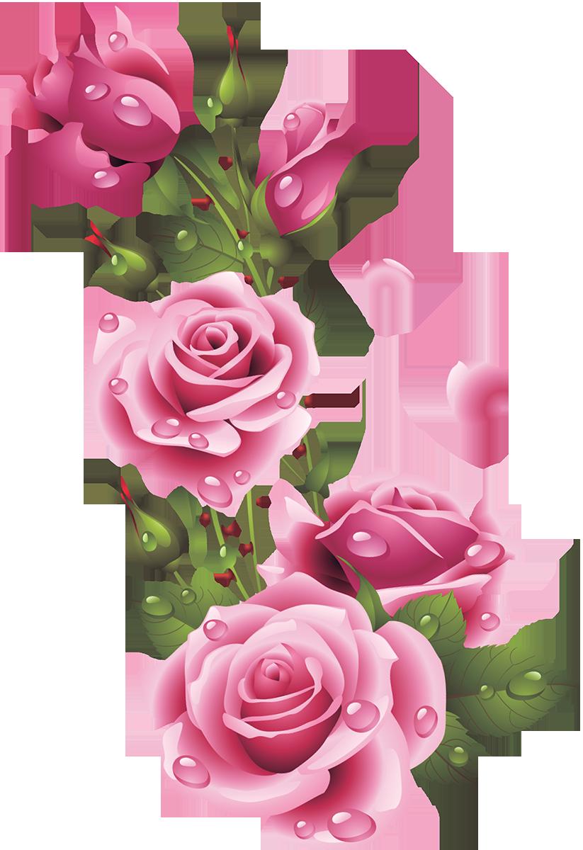 Clipart rose embroidery. Ru e category svet