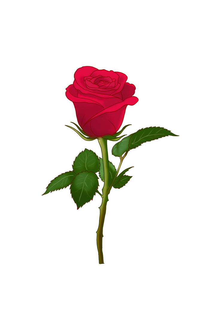 Clipart rose emoji. Please accept this from