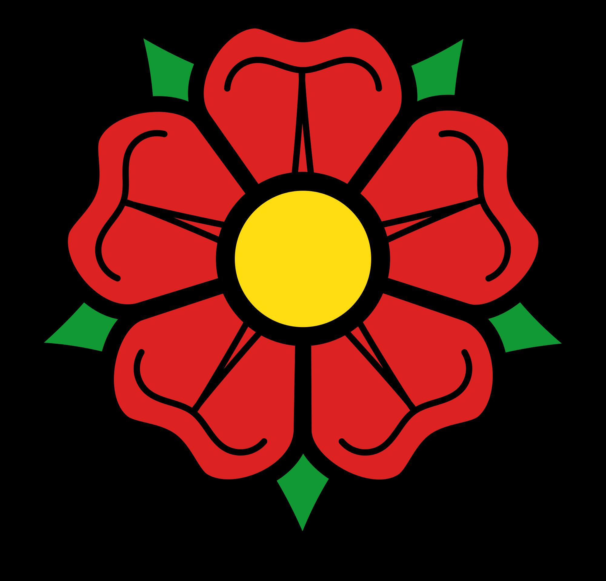 Clipart rose english rose. File heraldique svg wikimedia