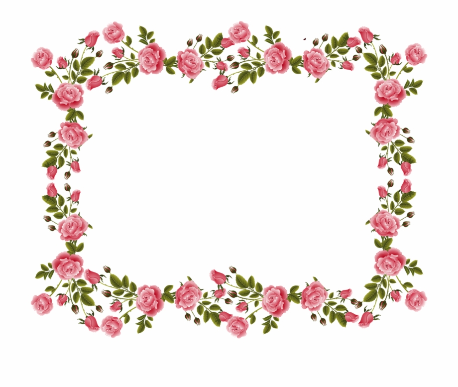 Vintage border hd wallpaper. Clipart rose frame