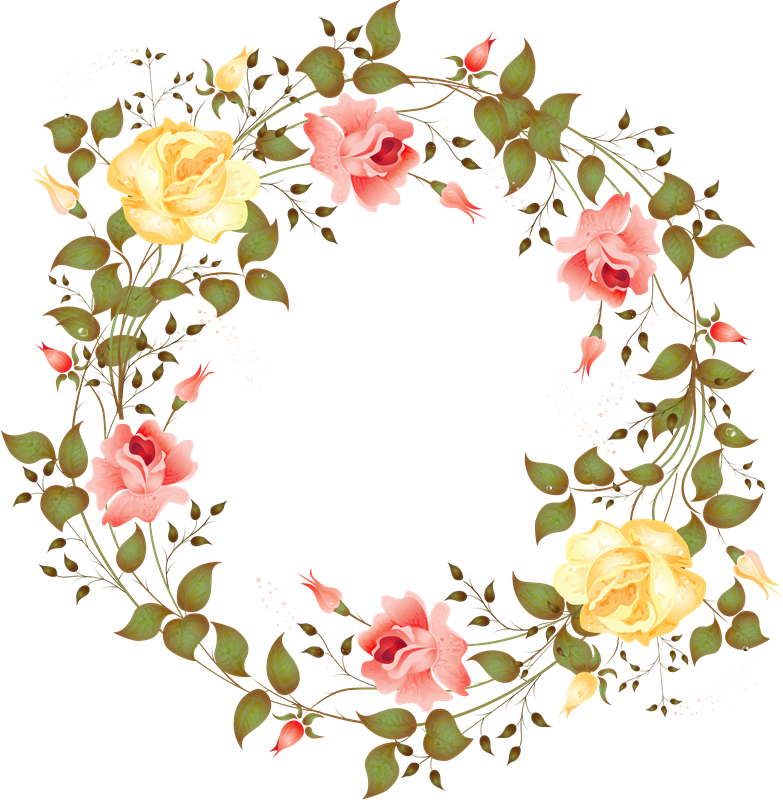 Woodland clipart wreath. Flores png home sweet