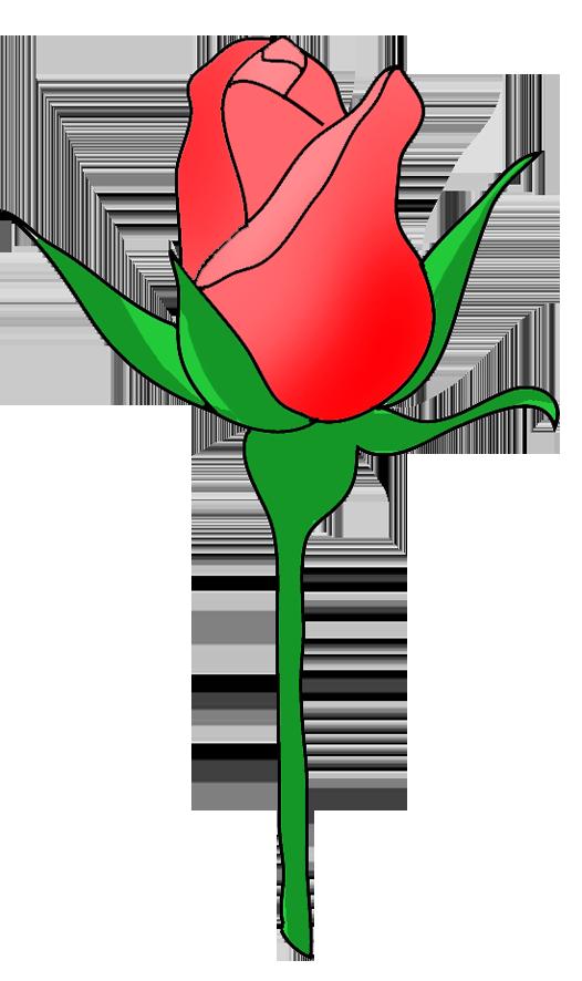 Rose clipart kid. Bud tiles pinterest buds