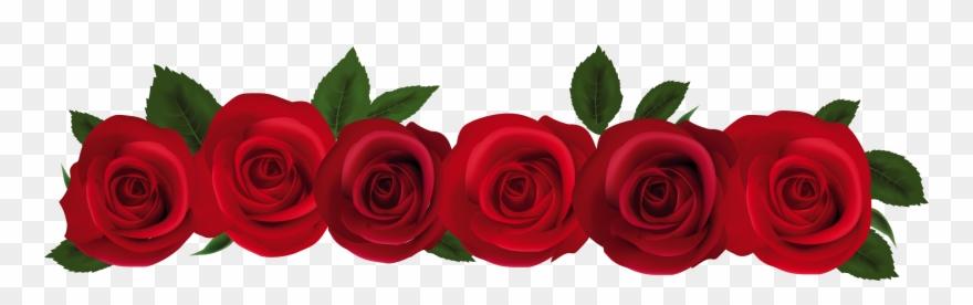 Rose garland frame flower. Clipart roses kid