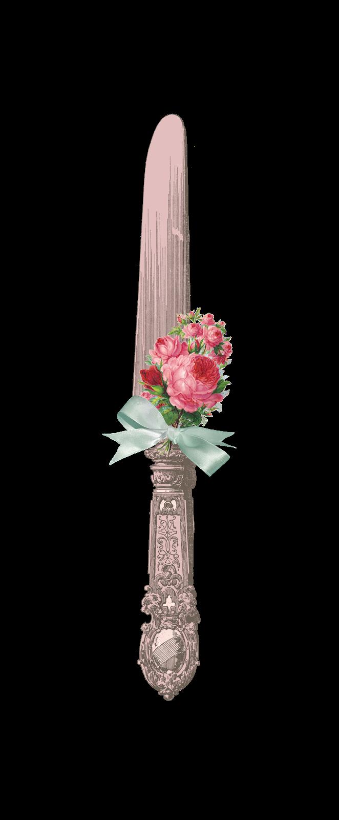 Papirolas coloridas auf papirolascoloridas. Clipart roses knife