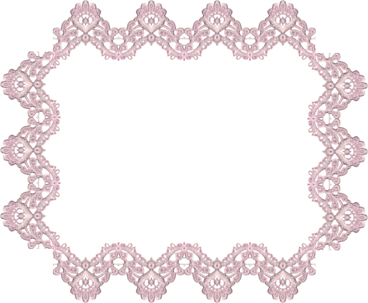 Victorian lavender digital elements. Clipart rose lace