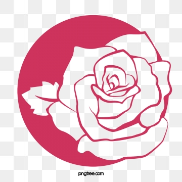 Png vector psd and. Clipart rose logo