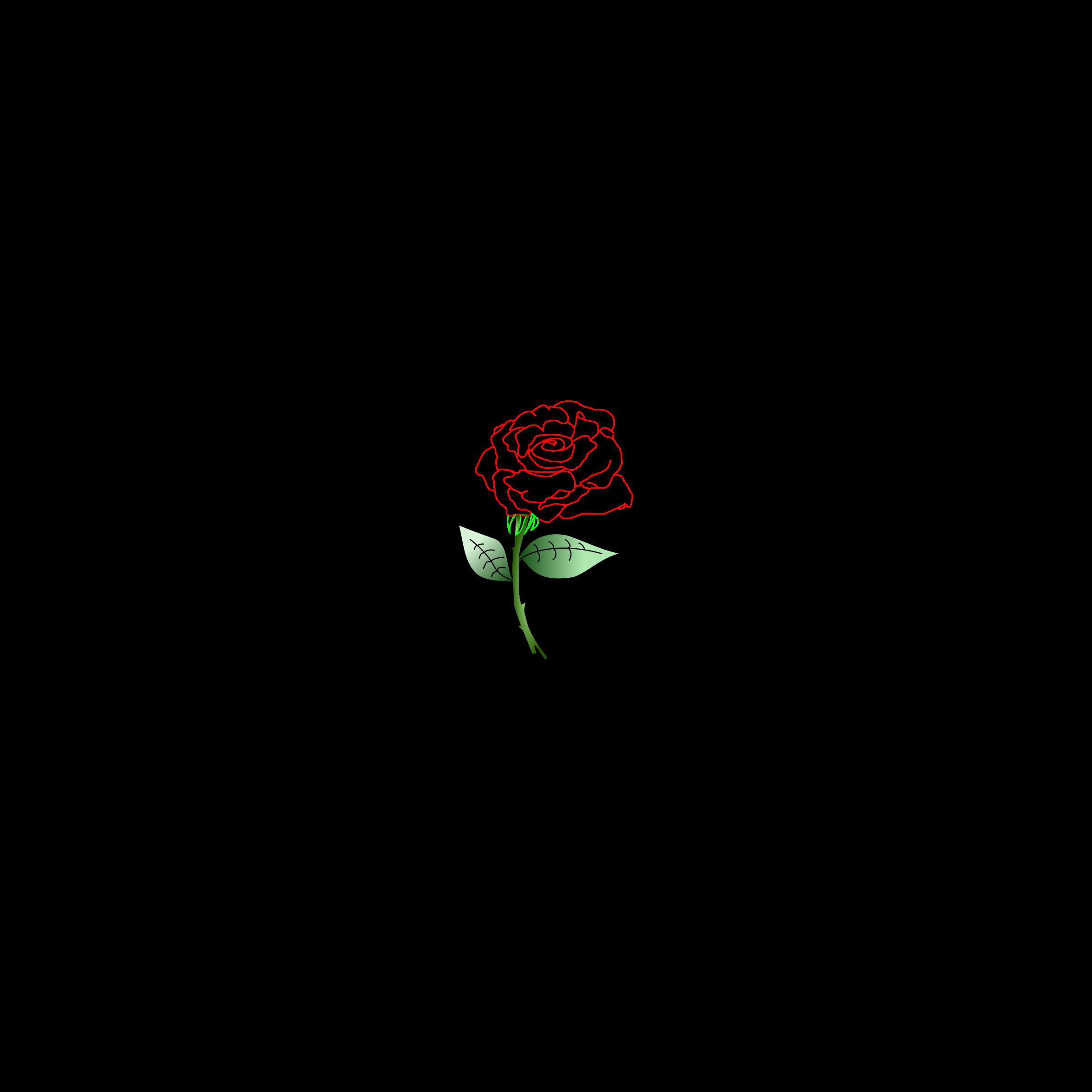 Clipart rose logo. Single big image png