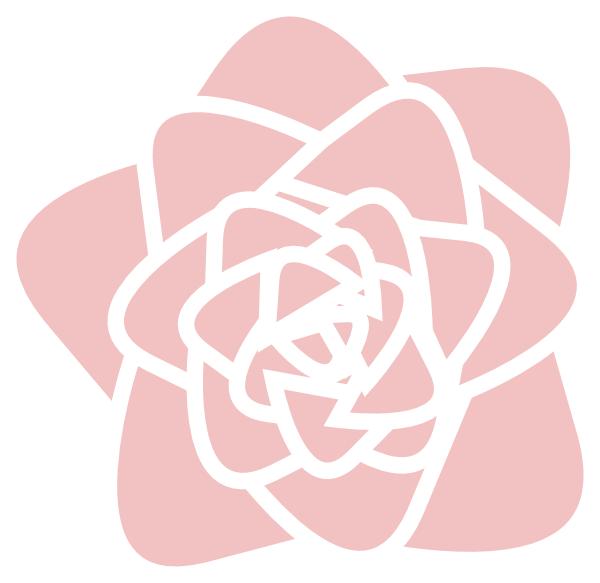 Pink rose clip art. Clipart roses pearl