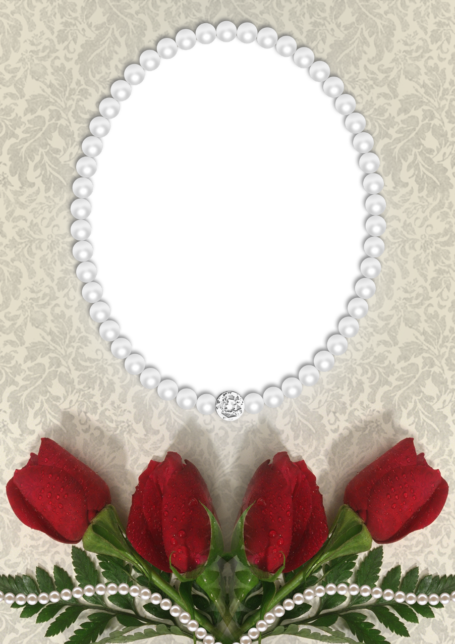 And pearls transparent png. Clipart roses pearl