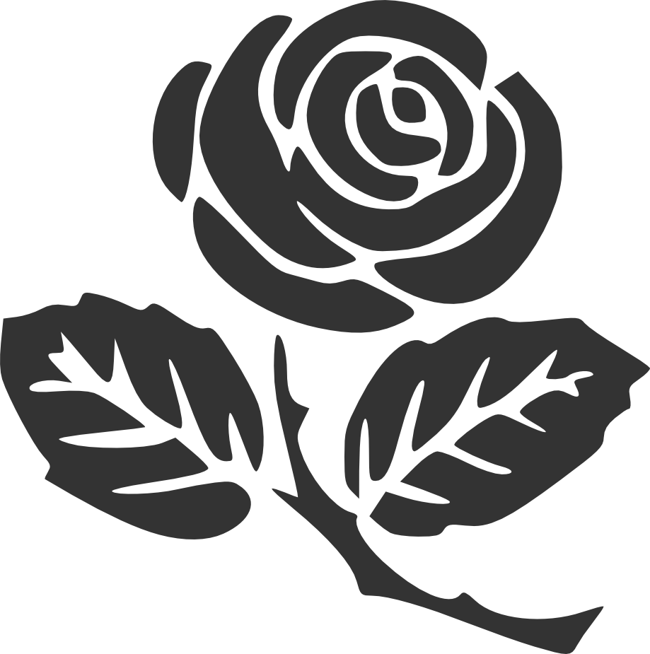 Cliparts free download clip. Clipart rose silhouette