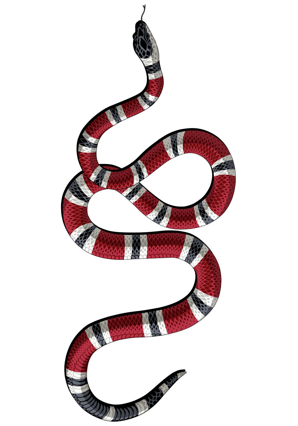 Image result for gucci. Rose clipart snake