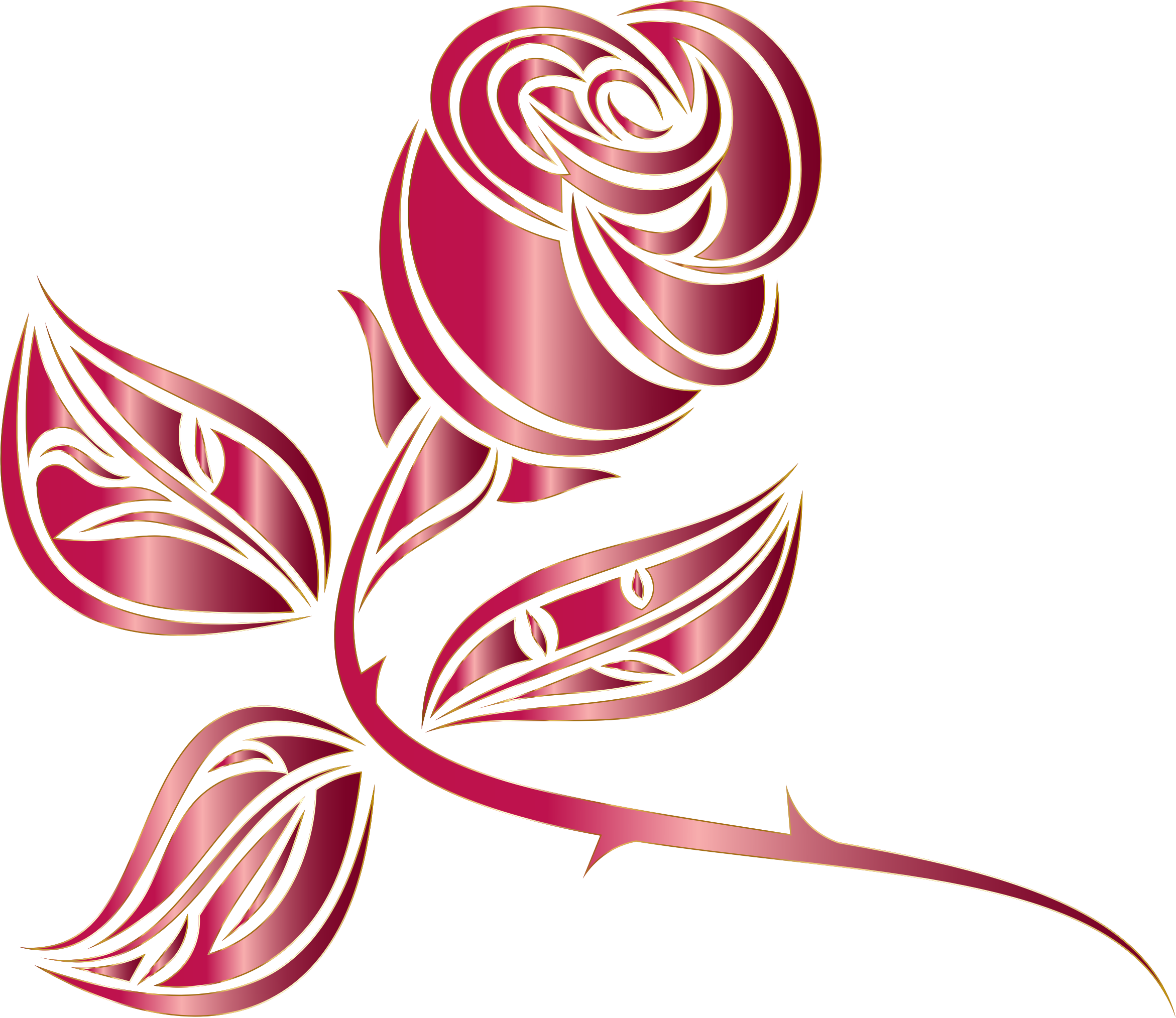 Thorns spines and prickles. Clipart rose thorn