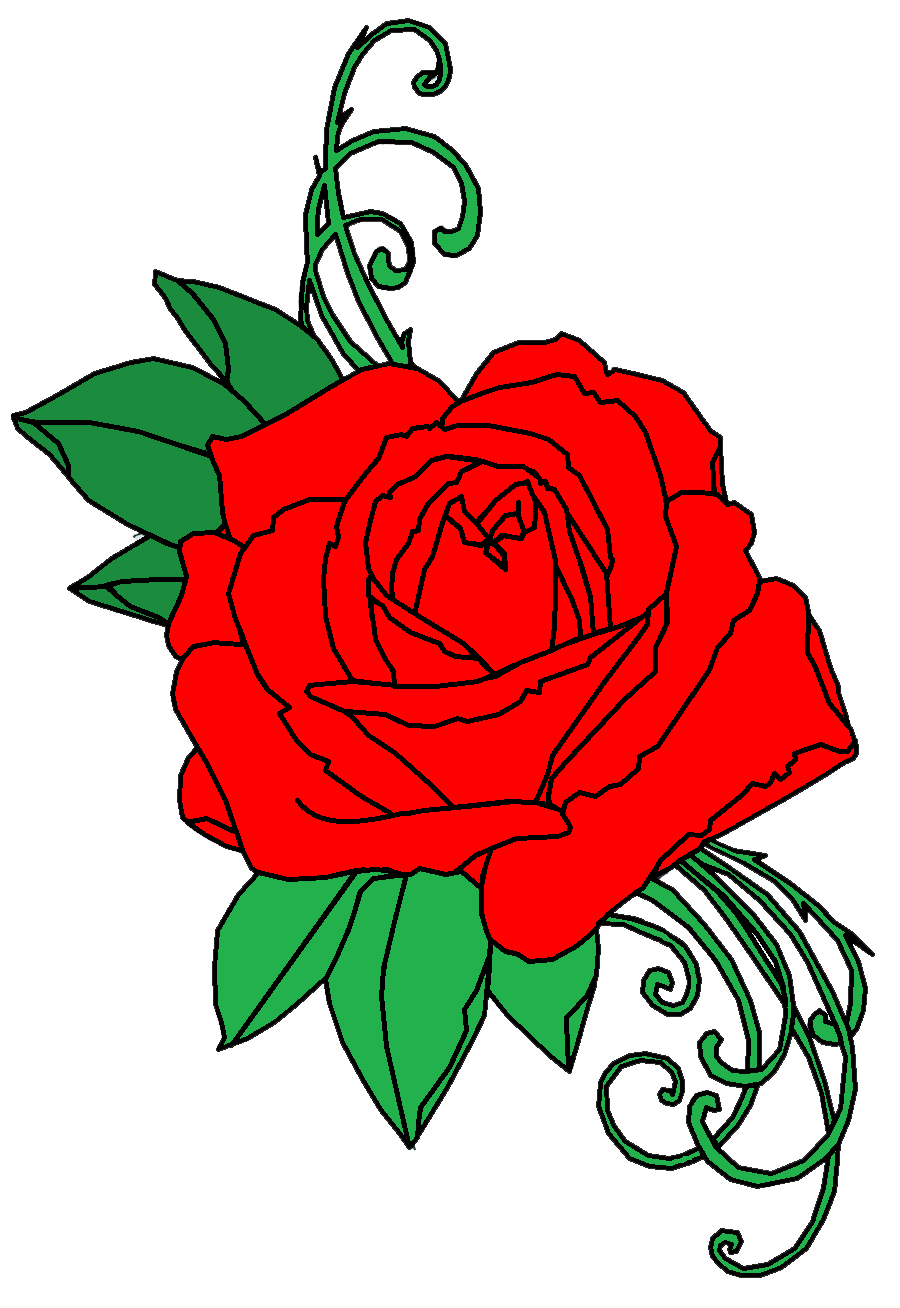Tattoo png transparent free. Rose clipart snake