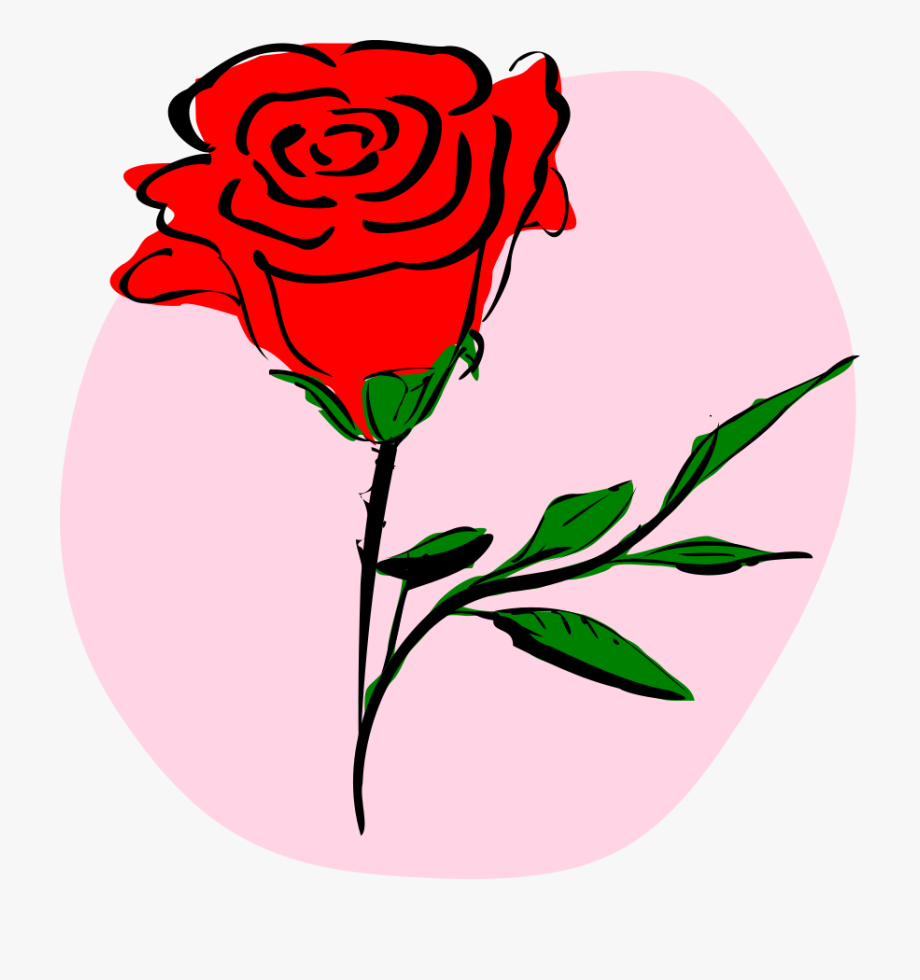 Clipart roses valentines. Day flowers rose cliparts